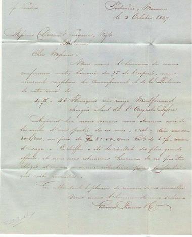 Filatelija - Pocelo je sa Crnim Penijem Pismo1